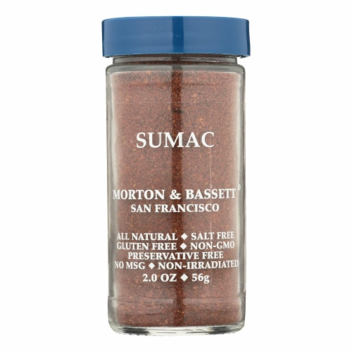 Morton & Bassett All Natural Sumac  - Case of 3 - 2 OZ Perspective: front