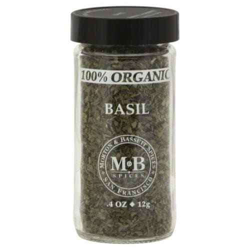 Morton & Bassett Organic Basil Perspective: front