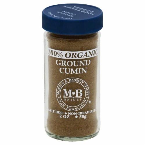 Morton & Bassett Organic Ground Cumin Perspective: front