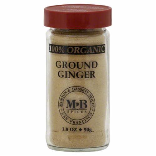 Morton & Bassett Organic Ground Ginger Perspective: front
