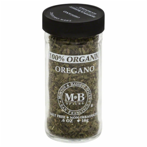 Morton & Bassett Organic Oregano Perspective: front