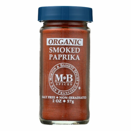 Morton and Bassett Smoked Paprika - Paprika - Case of 3 - 2 oz. Perspective: front