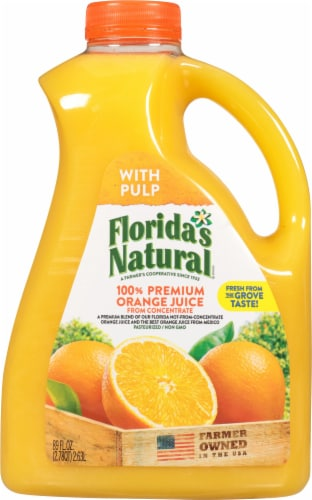 Florida's Natural Some Pulp Orange Juice Perspective: front