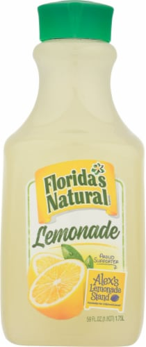 Florida's Natural Lemonade Perspective: front