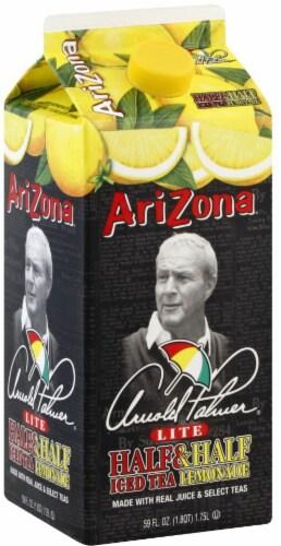 AriZona Arnold Palmer Lite Half Ice Tea & Half Lemonade Perspective: front