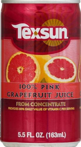 Texsun 100% Pink Grapefruit Juice Perspective: front
