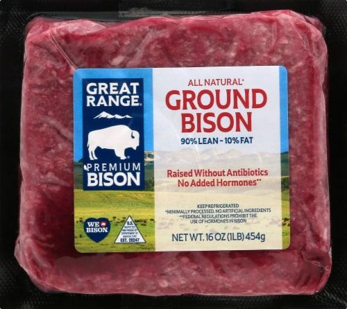 Great Range Ground Bison Perspective: front