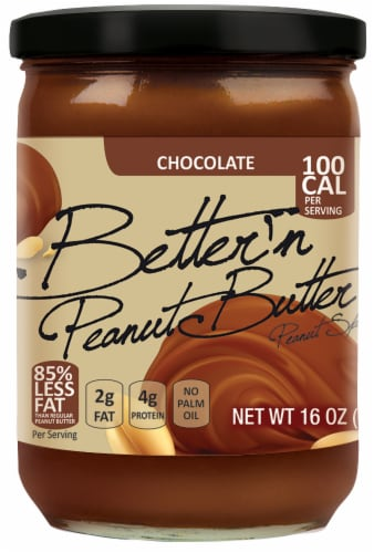 Better'n Peanut Butter Chocolate Spread Perspective: front