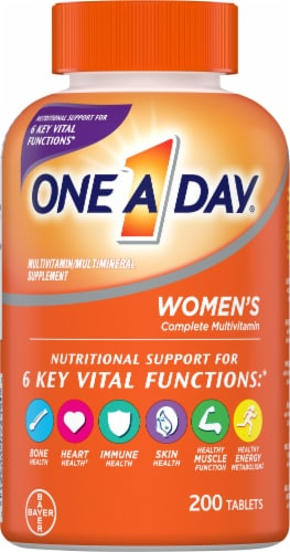 One A Day Women's Formula Multivitamin Tablets Perspective: front