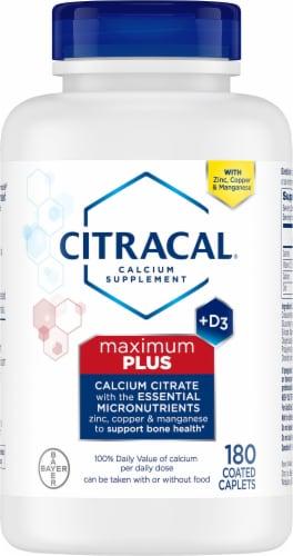 Citracal Maximum Calcium Citrate Calcium Supplement Perspective: front