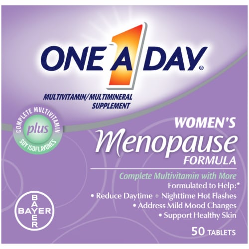 One A Day Women's Menopause Formula Multivitamin Perspective: front