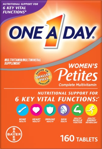 One A Day Women's Multivitamin Tablets Perspective: front