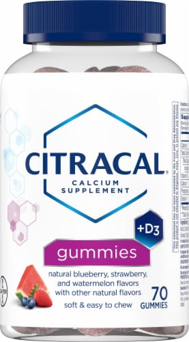 Citracal Calcium + Vitamin D Gummies Perspective: front