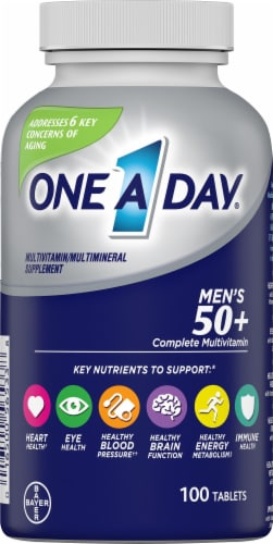 One A Day Mens 50+ Healthy Advantage Perspective: front
