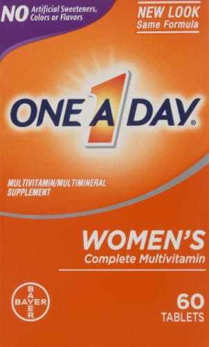 One A Day Women's Complete Multivitamin Tablets Perspective: front