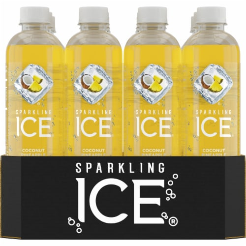 Sparkling Ice Coconut Pineapple Sparkling Water Perspective: front