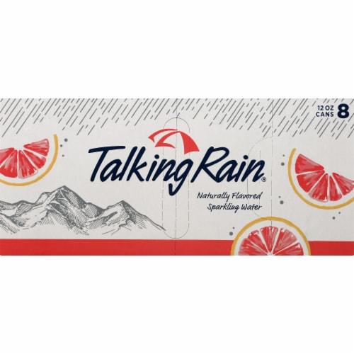 Talking Rain Grapefruit Sparkling Water Perspective: front
