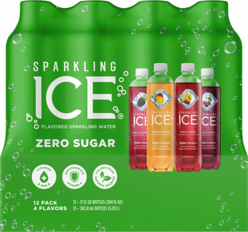 Sparkling Ice Flavored Sparkling Water Variety Pack Perspective: front