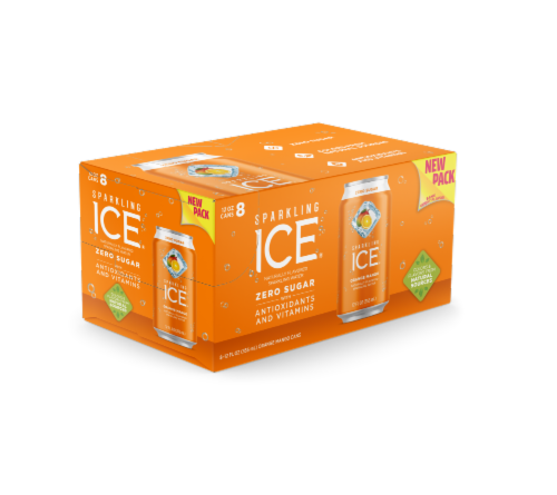 Sparkling Ice Orange Mango Perspective: front