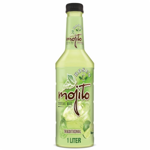 Rose's Mojito Traditional Cocktail Mix Perspective: front
