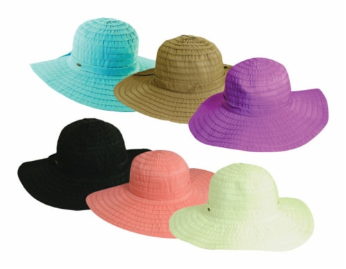 Dorfman Pacific Women's Hat Assorted Colors One Size Fits All - Case Of: 12; Perspective: front