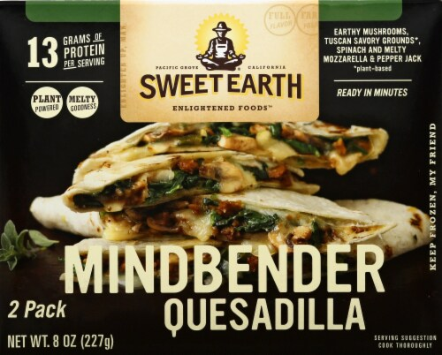 Sweet Earth Mindbender Quesadillas 2 Count Perspective: front