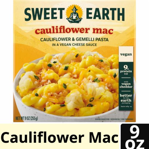 Sweet Earth Cauliflower Mac Bowl Frozen Dinner Perspective: front