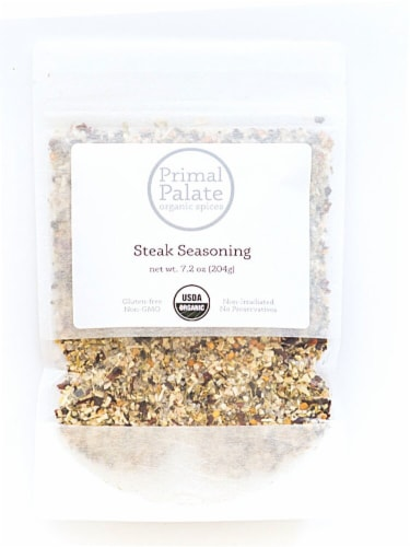 Primal Palate Organic Spices Steak Seasoning Perspective: front