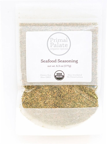 Primal Palate Organic Spices Seafood Seasoning Perspective: front