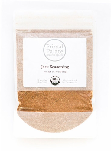 Primal Palate Organic Spices Jerk Seasoning Perspective: front
