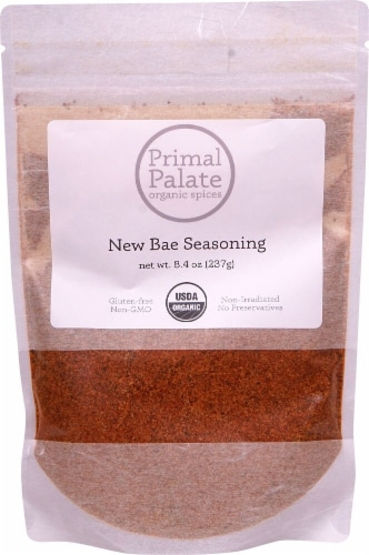 Primal Palate Organic Spices Bae Seasoning Perspective: front