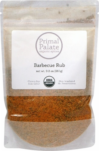 Primal Palate Organic Spices Barbecue Rub Perspective: front