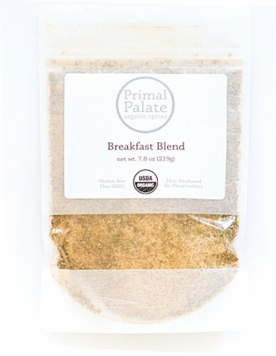 Primal Palate Organic Spices Breakfast Seasoning Perspective: front