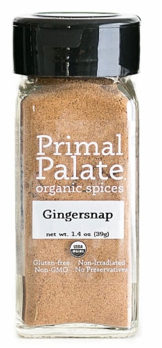 Primal Palate Organic Spices Gingersnap Perspective: front