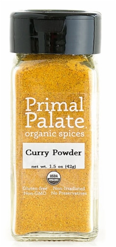 Primal Palate Organic Spices Curry Powder Perspective: front
