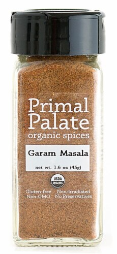 Primal Palate Organic Spices Garam Masala Perspective: front