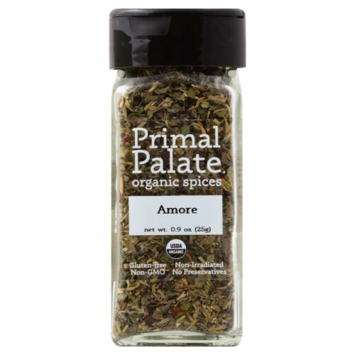Primal Palate Organic Spices Amore Seasoning Perspective: front