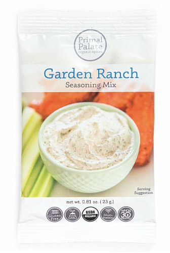 Primal Palate Organic Spices Ranch Seasoning Perspective: front