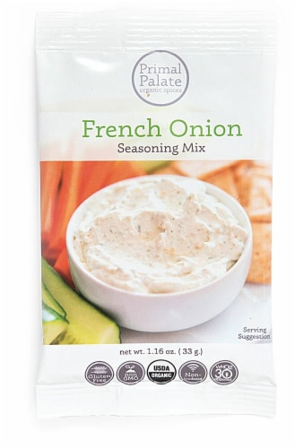 Primal Palate Organic Spices Onion Seasoning Perspective: front