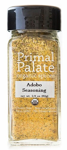Primal Palate Organic Spices Adobo Seasoning Perspective: front