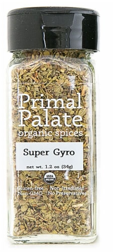 Primal Palate Organic Spices Gyro Seasoning Perspective: front