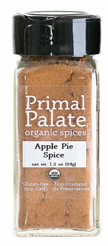 Primal Palate Spices Apple Pie Spice Perspective: front