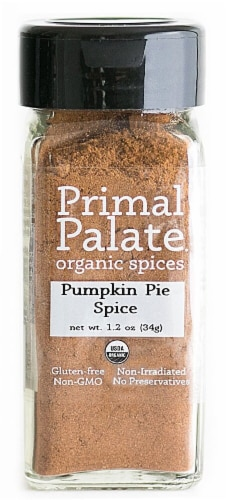 Primal Palate Organic Spices Pumpkin Pie Spice Perspective: front