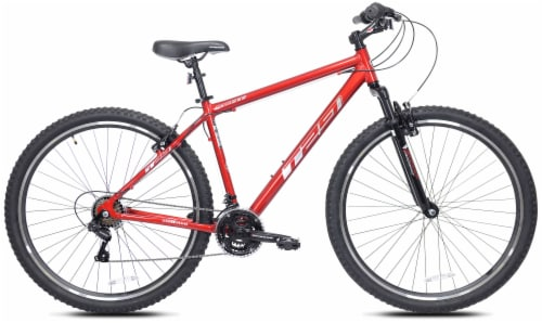 Kent International Inc T-29 Mountain Bike - Red Perspective: front