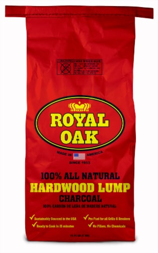 Royal Oak Hardwood Lump Charcoal Perspective: front