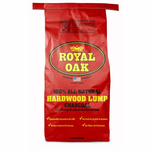Royal Oak All Natural Hardwood Lump Charcoal Perspective: front