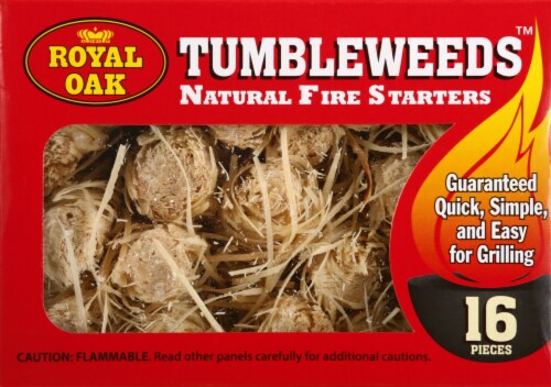 Royal Oak Tumbleweeds™ Natural Fire Starters Perspective: front