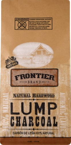 Frontier 100% Natural Hardwood Lump Charcoal Perspective: front