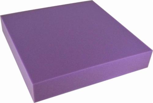 Foamex Foam Shape - Purple Perspective: front