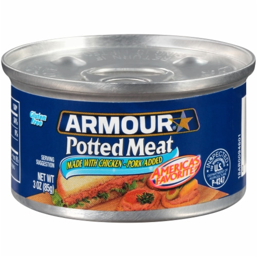 Armour Potted Meat Perspective: front